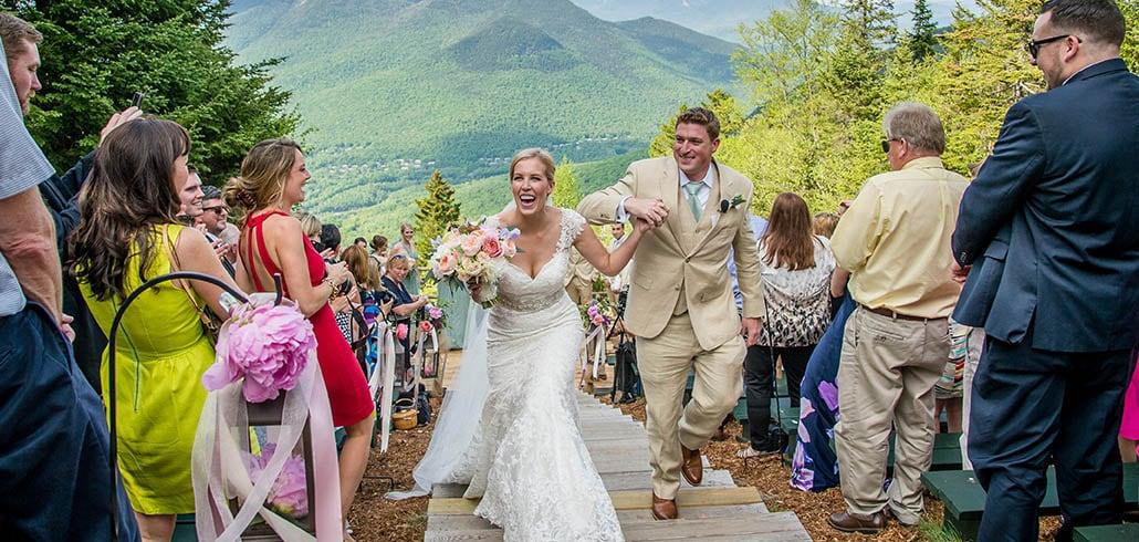 Mountaintop Weddings Loon Mountain Resort Nh